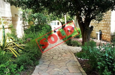 Superb Investment in Talbieh - 1,590,000 NIS - SOLD!